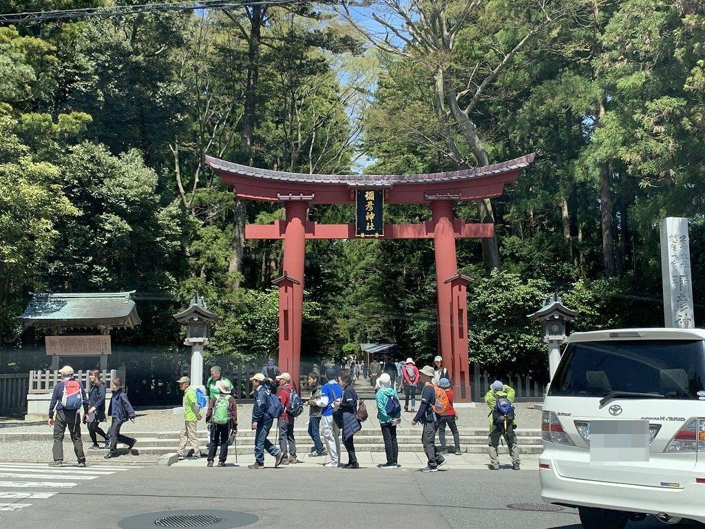 弥彦神社山門