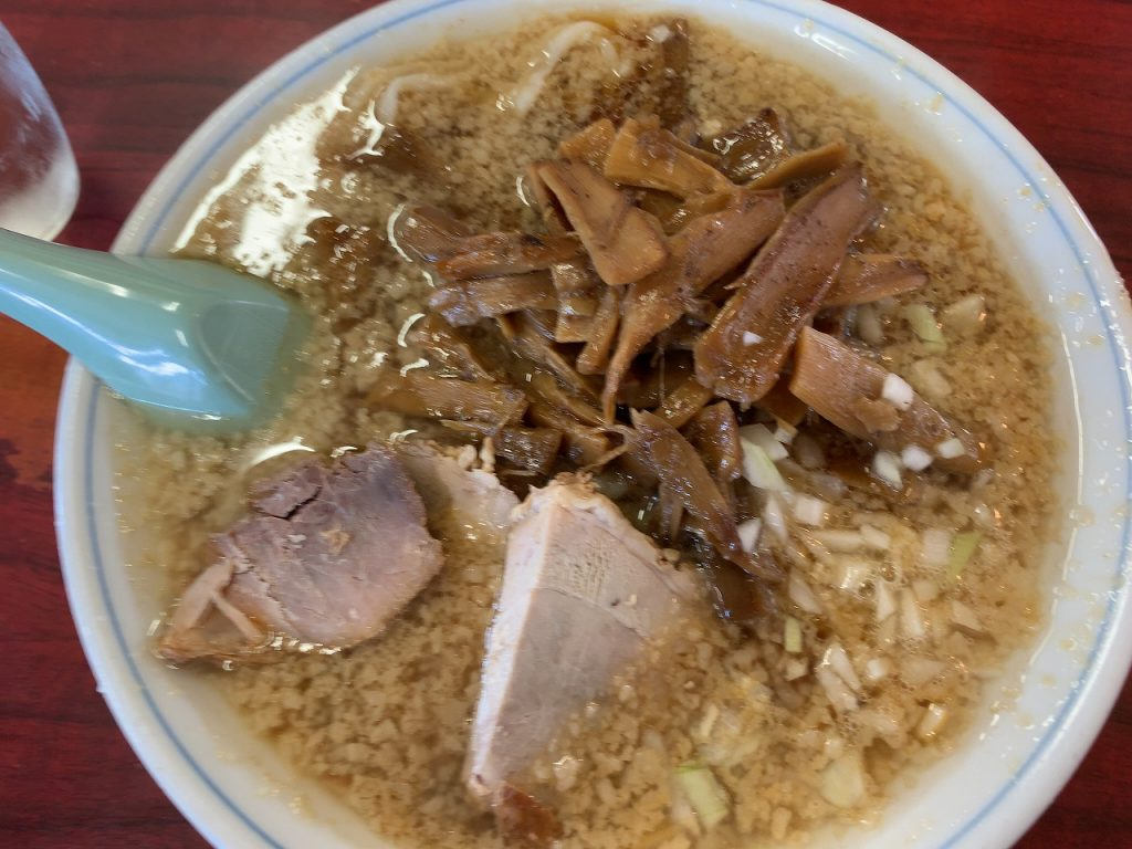 杭州飯店のメンマ中華