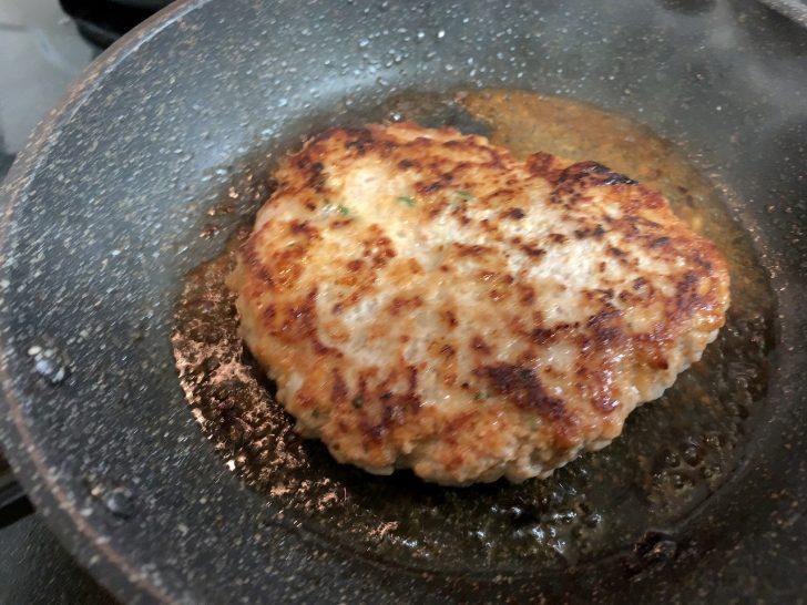豚味噌ハンバーグ