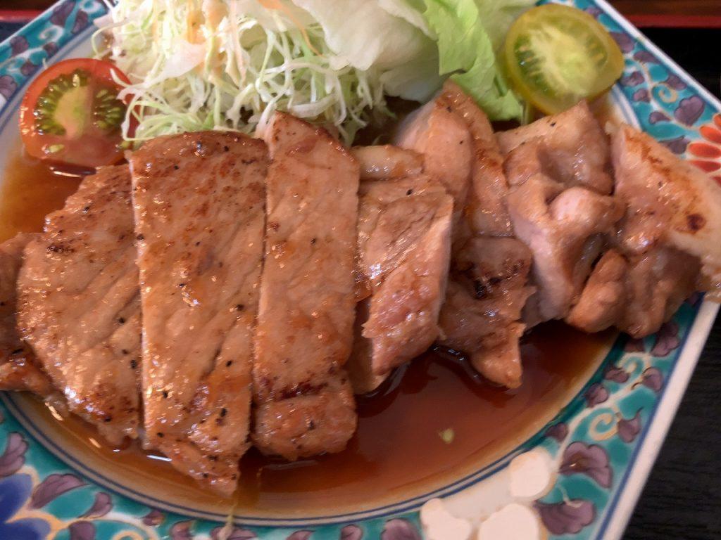 三条市 福泉の生姜焼き定食