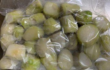 里芋の簡単な皮の剥き方