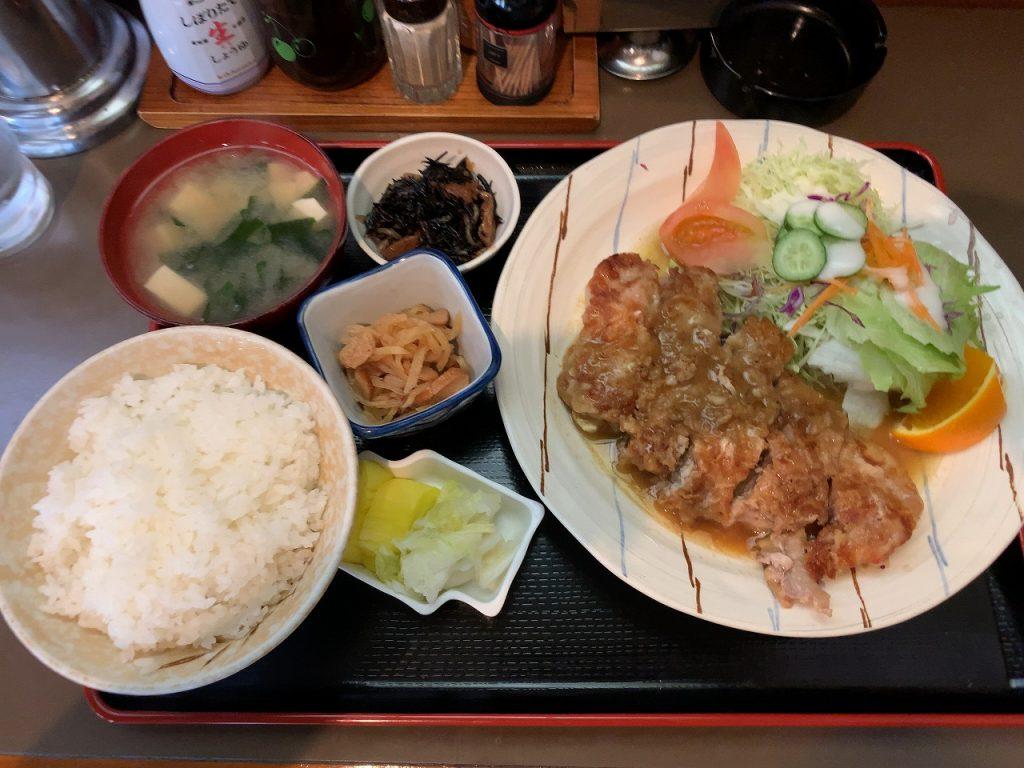 これが三和さんのポークソテー定食だ。