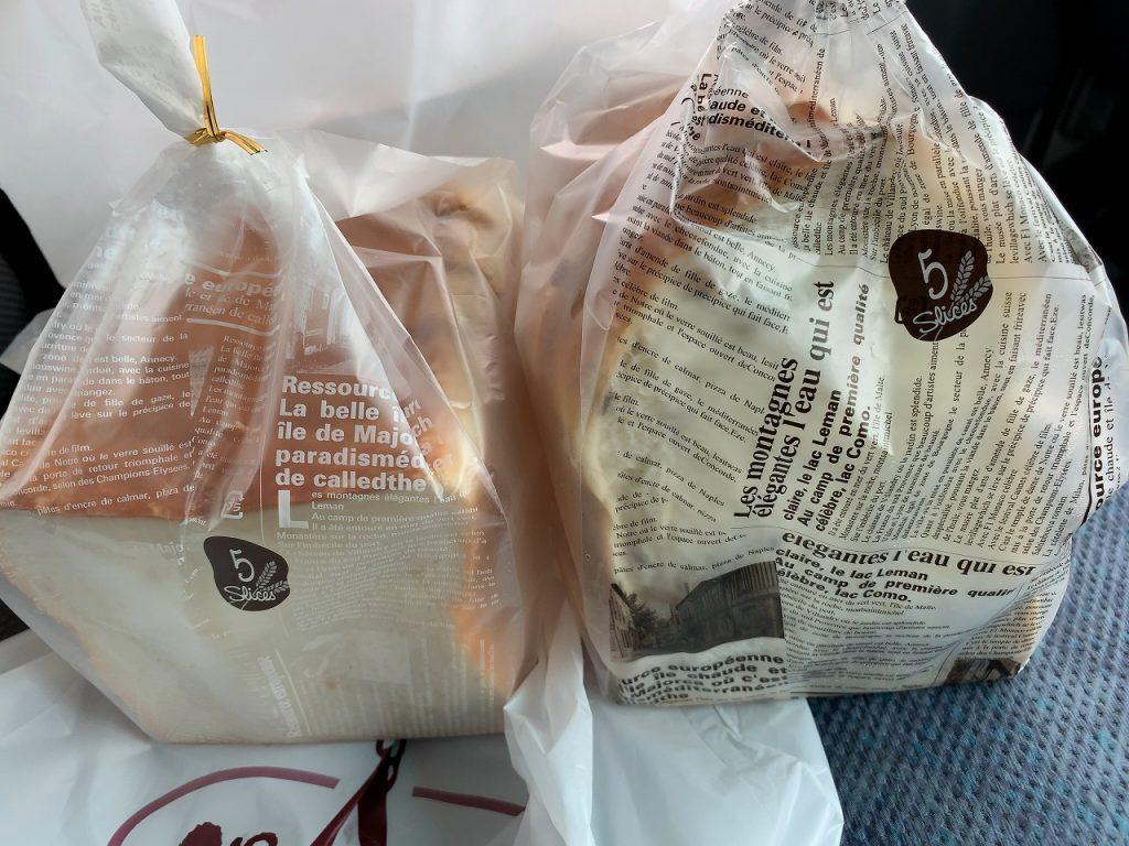 パイボンネンの食パン
