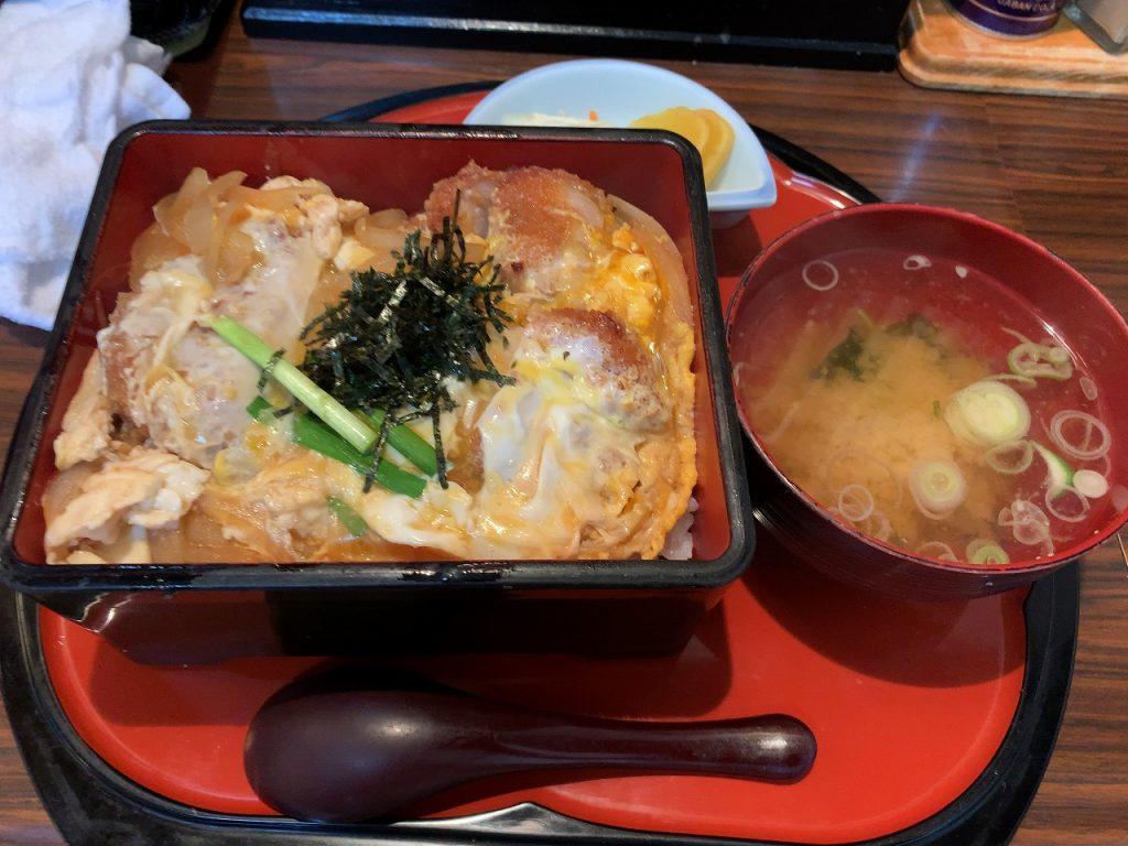 三条市 割烹食堂 福泉 カツ丼(卵とじバージョン)