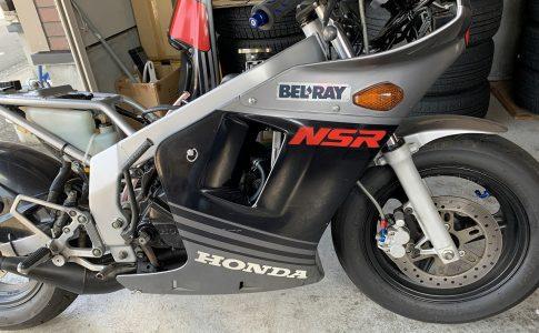 NSR50のキャブセッティング
