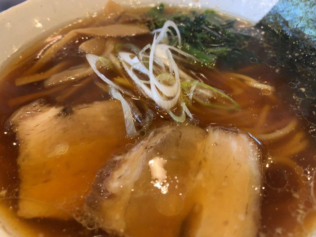 三条市 らーめん 鯉次 生姜醤油ラーメン