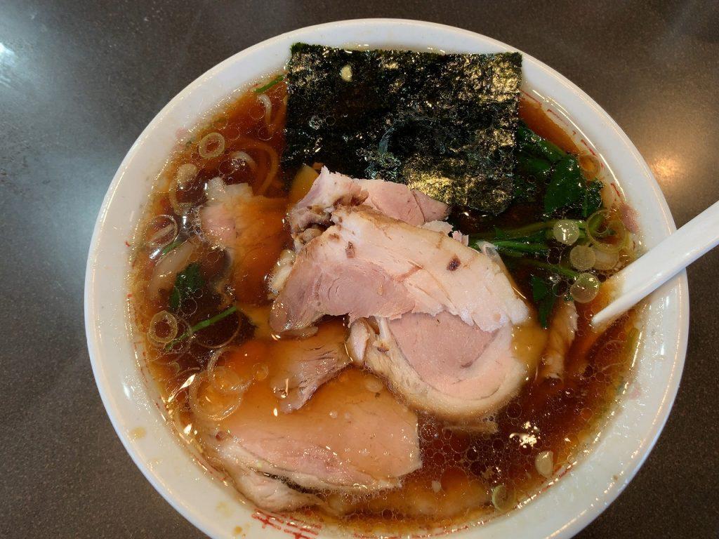 長岡市 青島食堂曲新町店 チャーシュー50円増し