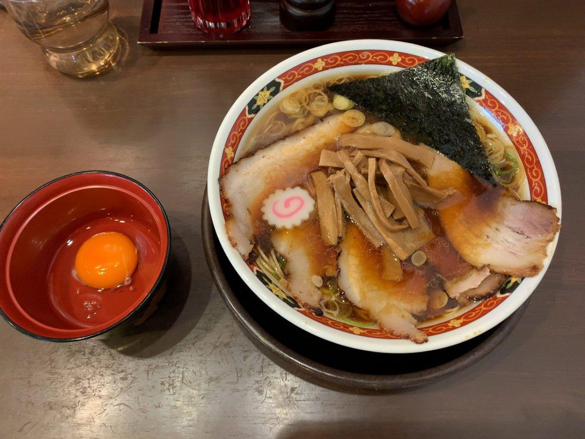 叉焼中華1000円。