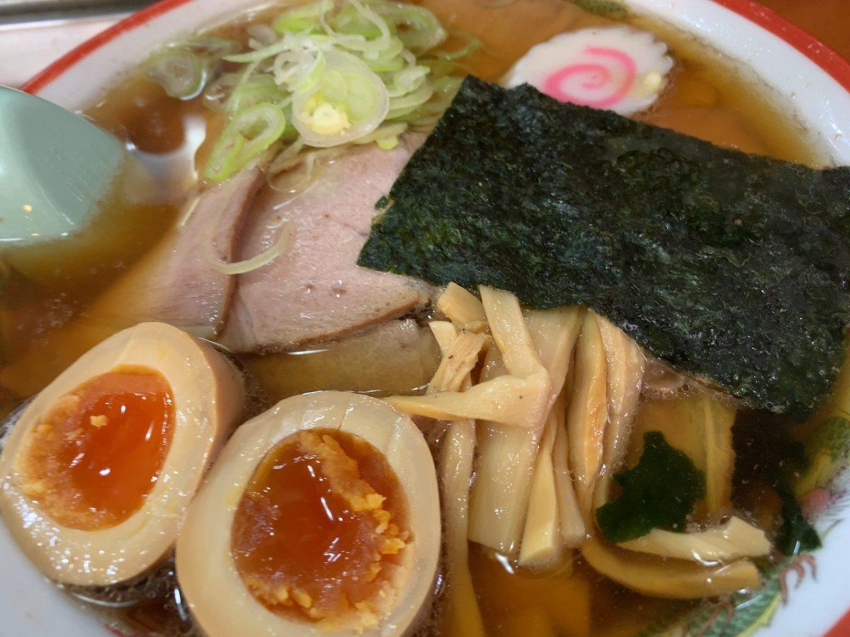 加茂市松坂町 味一食堂 チャーシューめん