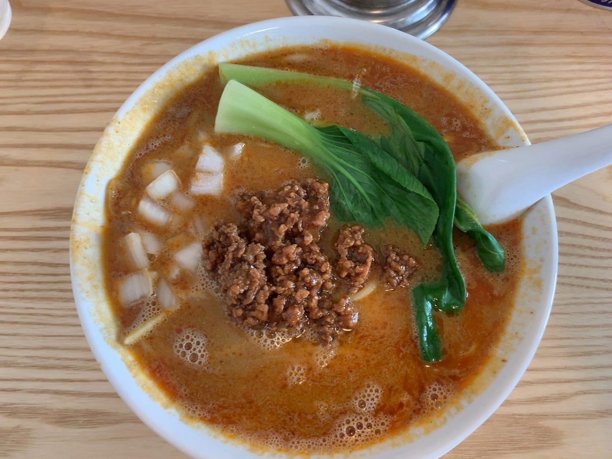 新潟市東区 アオゾラメンポ めんぽ担々麺