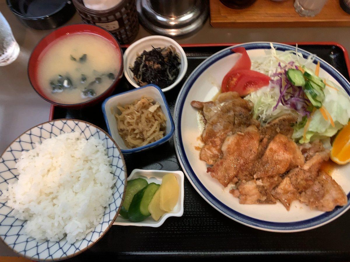 三条市 味処 三和 生姜焼き定食