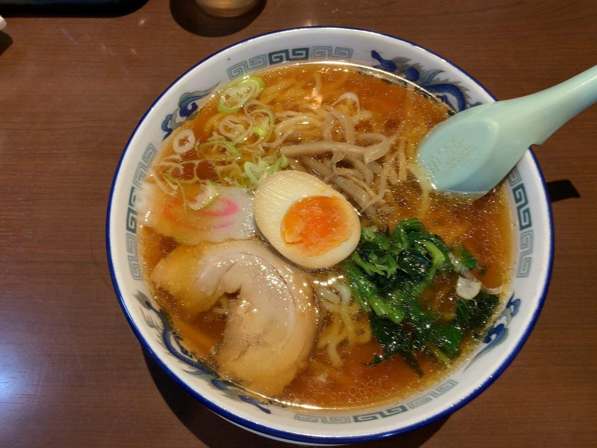 新潟市西蒲区 麺工房むげん 喜多方ラーメン