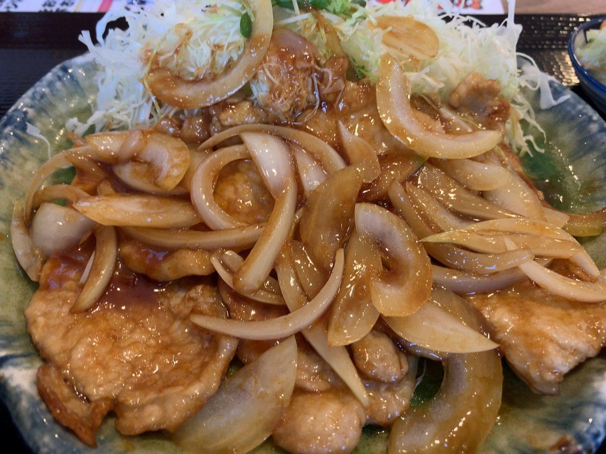 三条市 ぜんていのどんぶり家 三元豚の生姜焼き定食