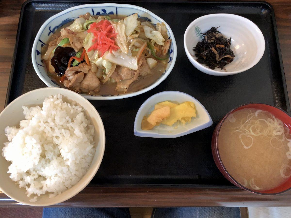 三条市 福泉の「肉炒め定食」と久しぶりの新店
