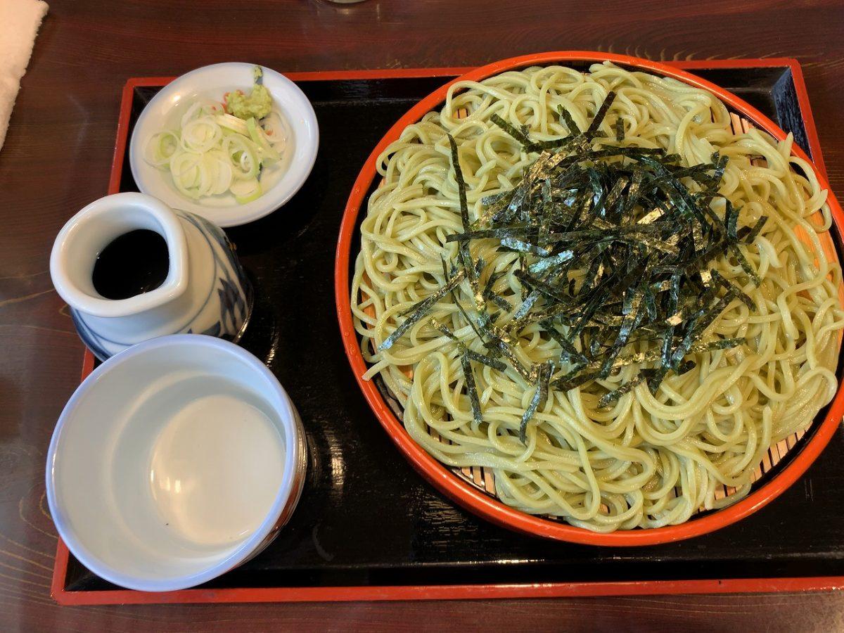 三条市 そば処今泉 ざる蕎麦 と山菜な季節