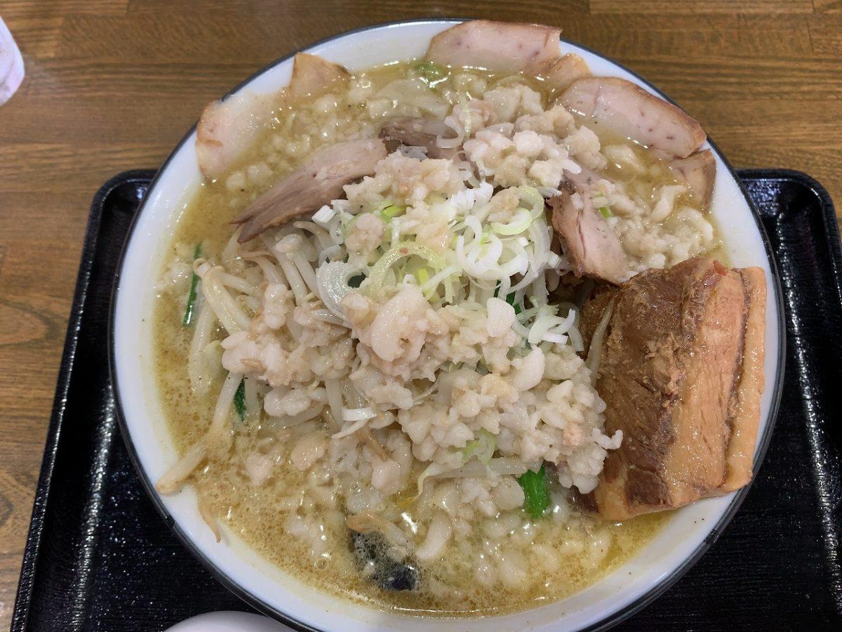 三条市 麺屋じろ吉 セット・味噌・エビ塩