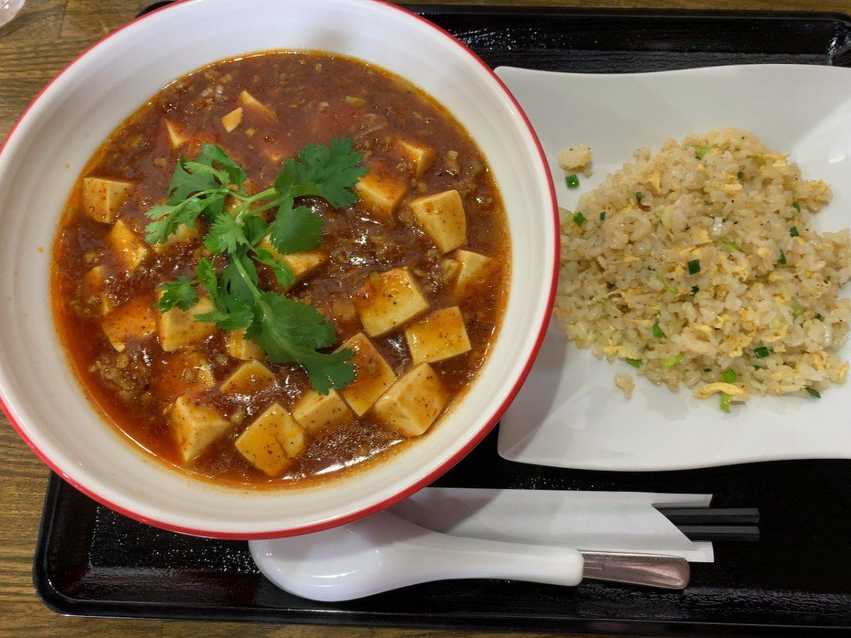 三条市 麺屋じろ吉 秋冬限定 麻婆麺の季節です